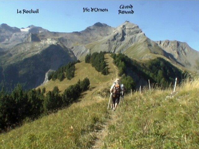 Croix du Carrelet 2059m du col du Solude 1680 m – Villard-Reymond 38520