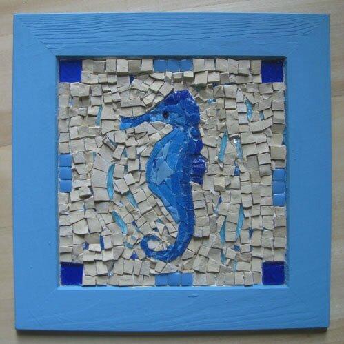 rustic seahorse