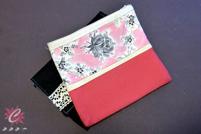 Couture : Pochette Home made - TUTO inside!