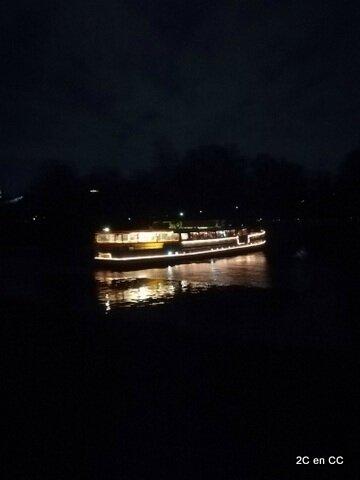 Sur la Spree - Reveillon sur bateau - Berlin