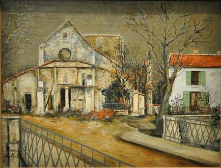 Utrillo Eglise de Sermaize