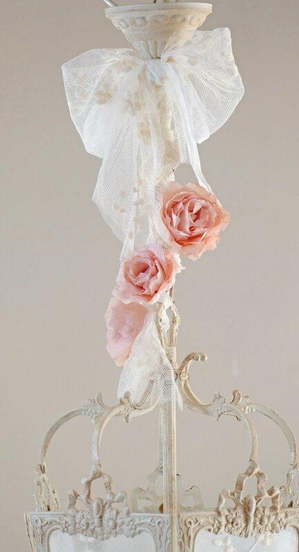 lanterne roses papier 2