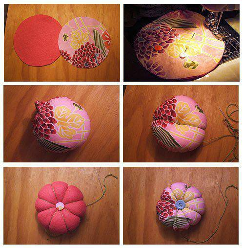 Comment faire un porte epingle les cr ations de salvina - Comment faire coussin capitonne ...