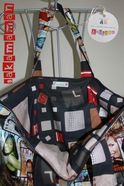 Sakamaman Vogue Tissu intérieur