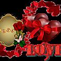 Cadres clusters pour vos créations st valentin