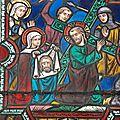 La passion du Christ et Ste Véronique a essuyé le visage en sueur du Christ le Saint Suaire