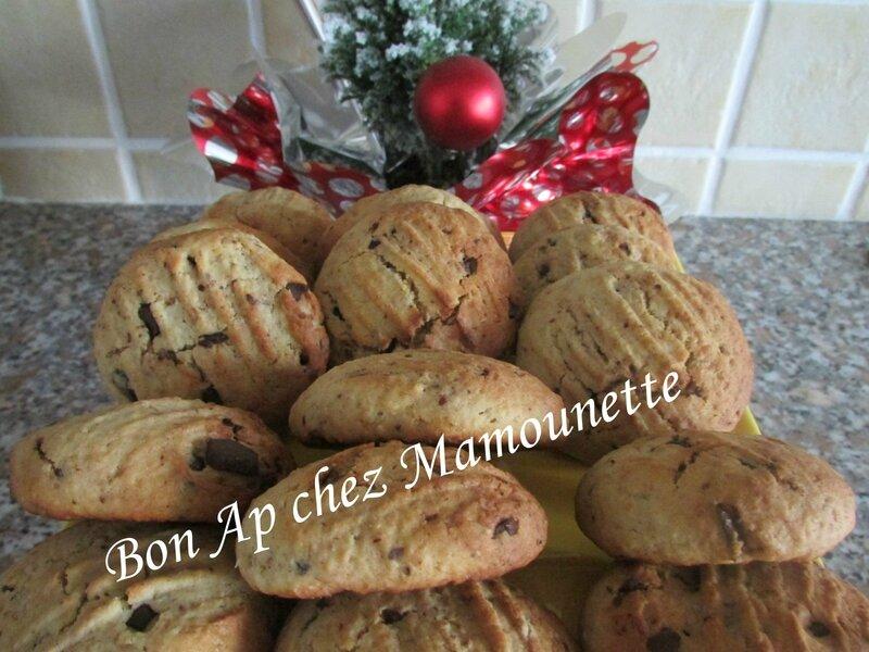 cookies au son d'avoine miel d'acacia et pépites de chocolat 019