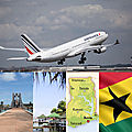 Accra, nouvelle destination d'air france au ghana