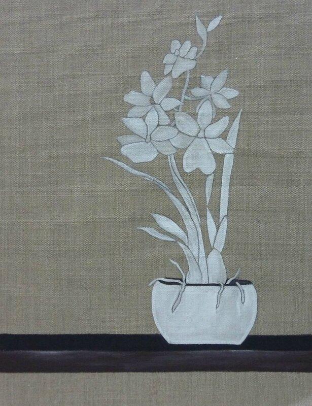 H l ne nature morte florence melocco cours de for Peintures decoratives
