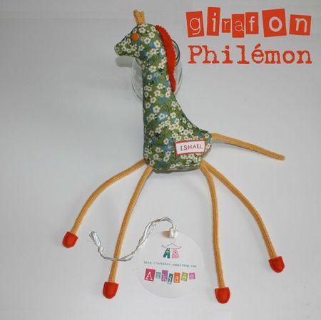 Girafon profil gauche