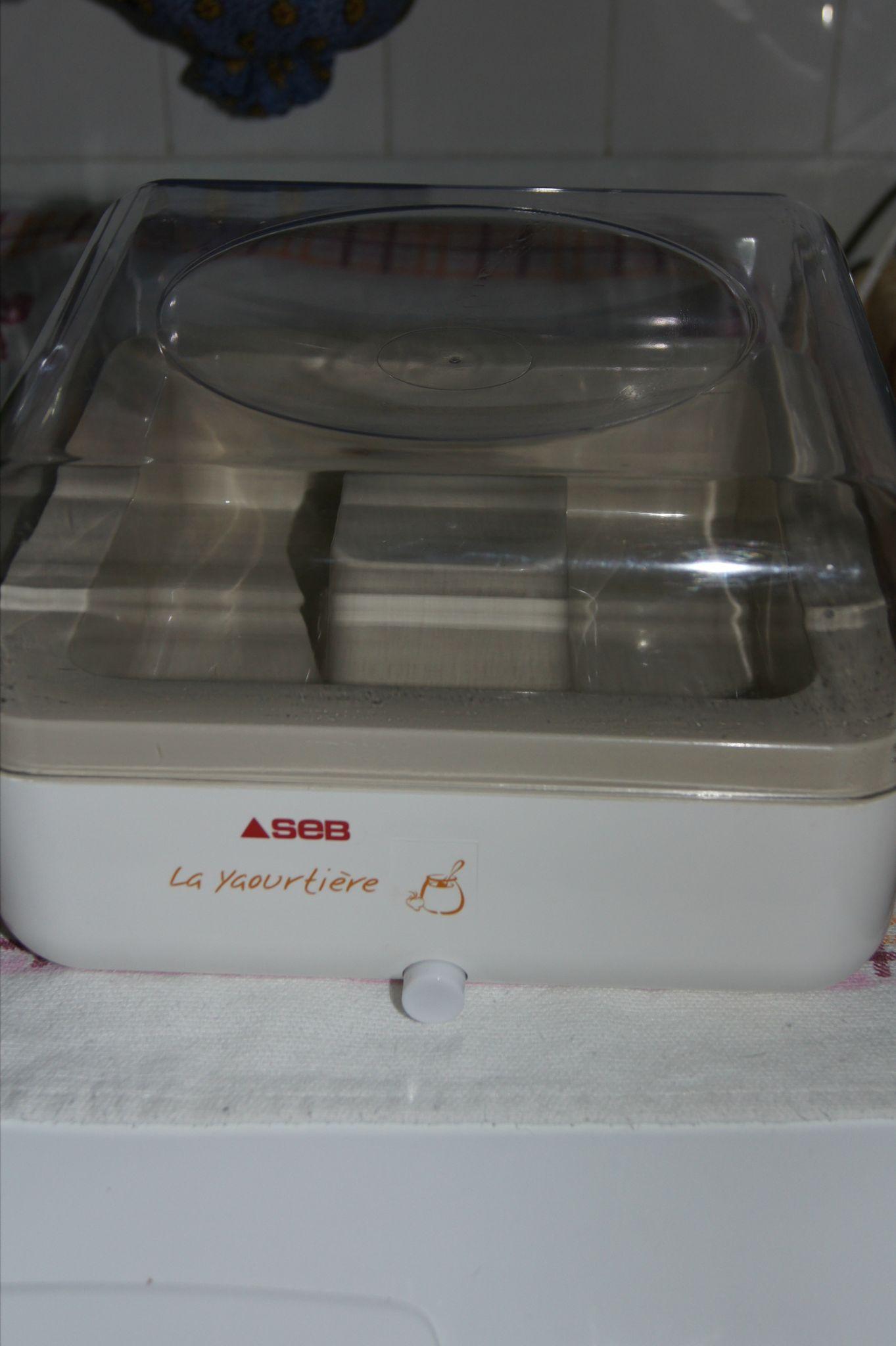 Yaourti re mulitid lice de seb dans l 39 air du temps - Machine a yaourt seb ...