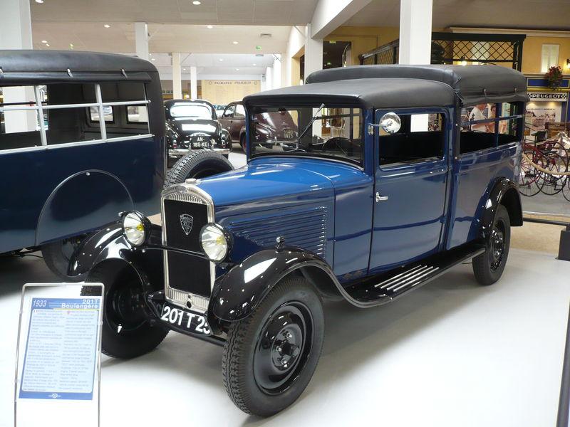PEUGEOT 201T boulangère 1933 Sochaux (1)