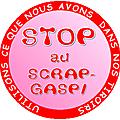 Stop au scrap gaspi : voici un logo pour votre blog si vous soutenez l'idée