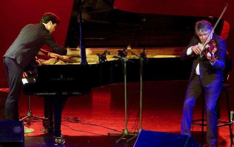 FESTIVAL JAZZ 2017 THOMAS ENHCO DIDIER LOCKWOOD cordes piano
