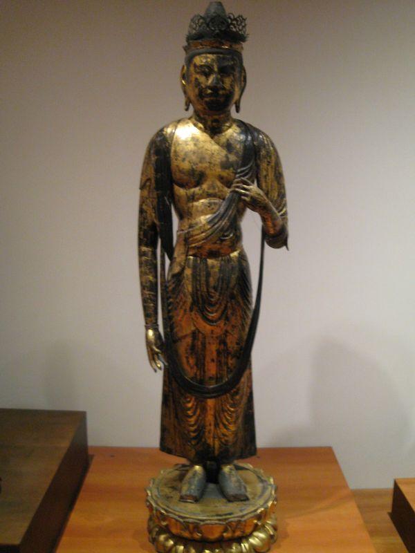 Jûichimen Kannon, deuxième partie de l'époque de Heian, période Fujiwara, fin du XIème s