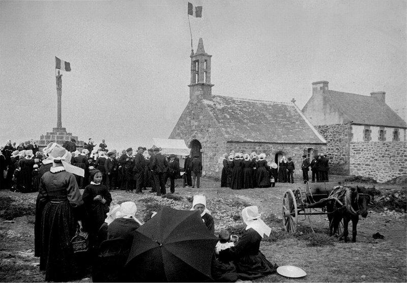 Ch30 - La chapelle St Yves - Pardon en 1935 a