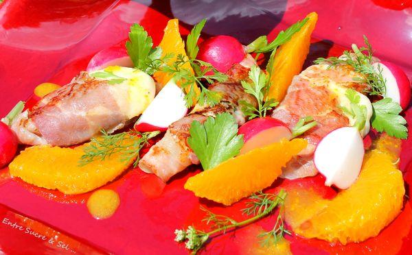 Mozza Pancetta orange