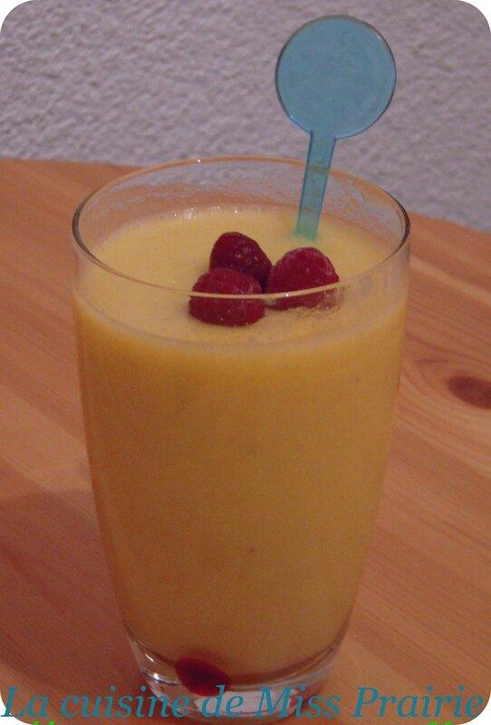 Cocktail rhum-orange-banane