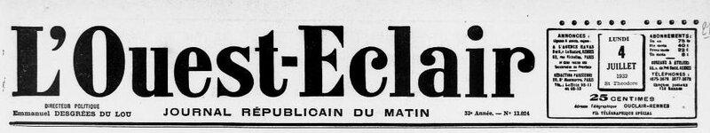 Ouest Eclair 4 juillet 1932_1