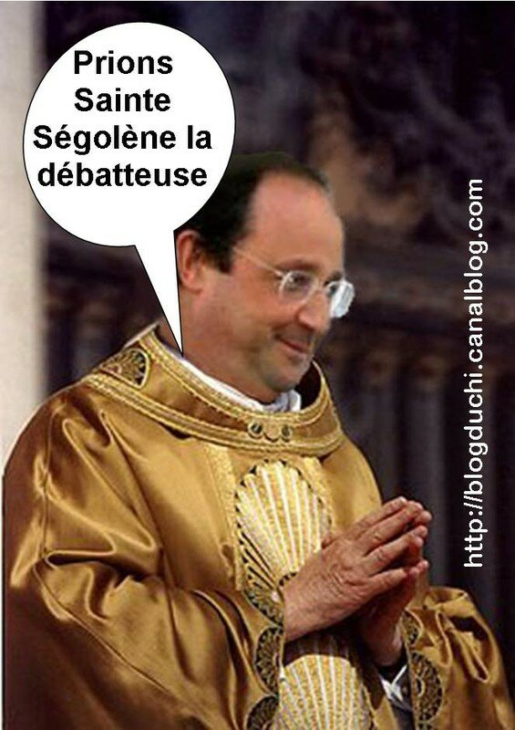 hollande pape