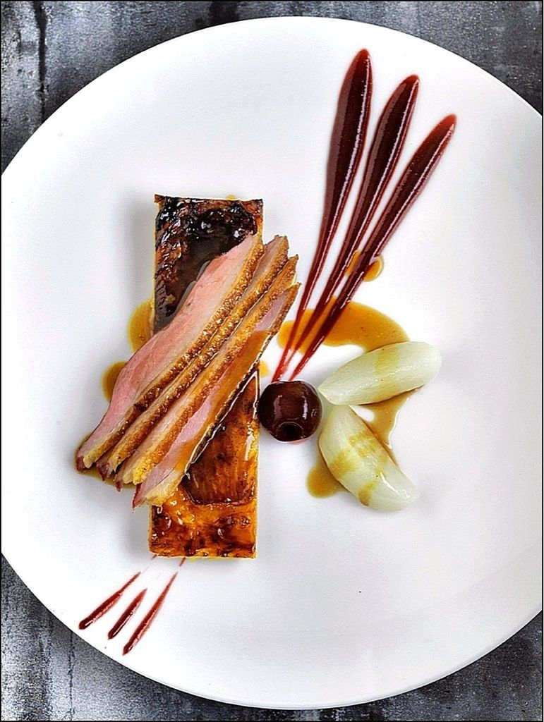 Chasse au canard visions gourmandes for Assiette cuisine