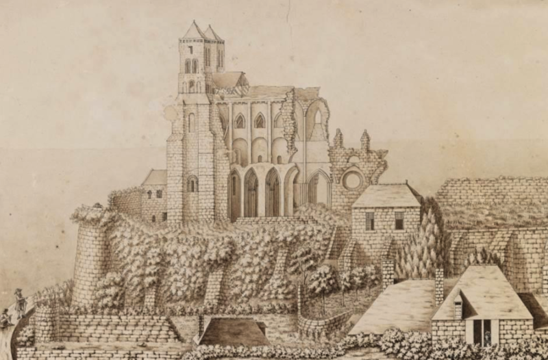 cathédrale Avranches ruines conférence 2018