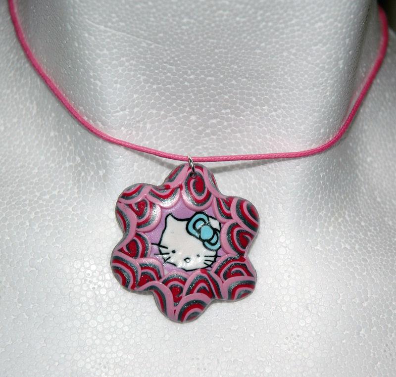 Hello_Kitty_Pink_Pendentif_en_pâte_fimo