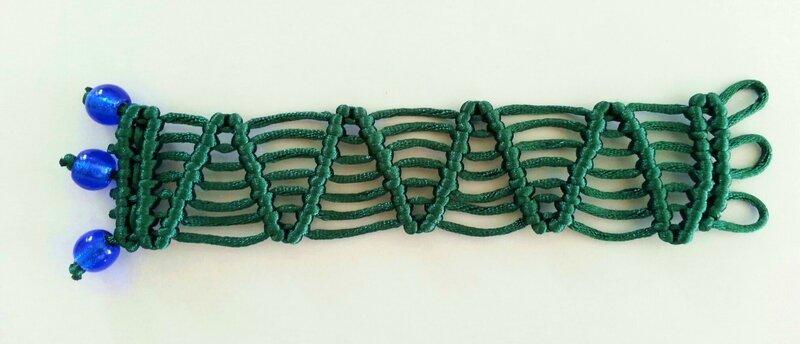 bracelet vert 1