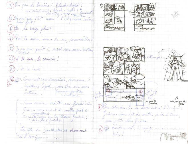 Storyboard 'La fissure de la fusion' Roger Roger