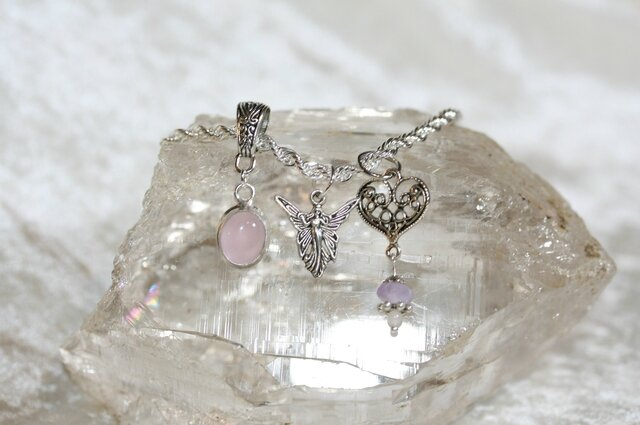 bracelet fee quartz rose