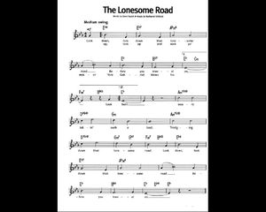 - The lonesome road