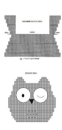 diagramme tricot doudou