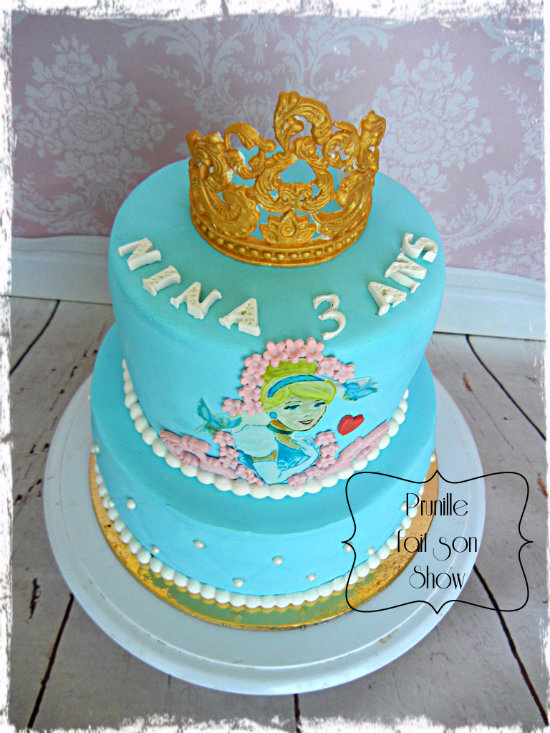 gateau étages cendrillon prunillefee 2