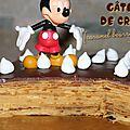 Gâteau de crêpes au caramel beurre salé et chocolat