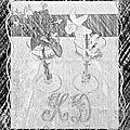 compo verre cristal et fleurs8