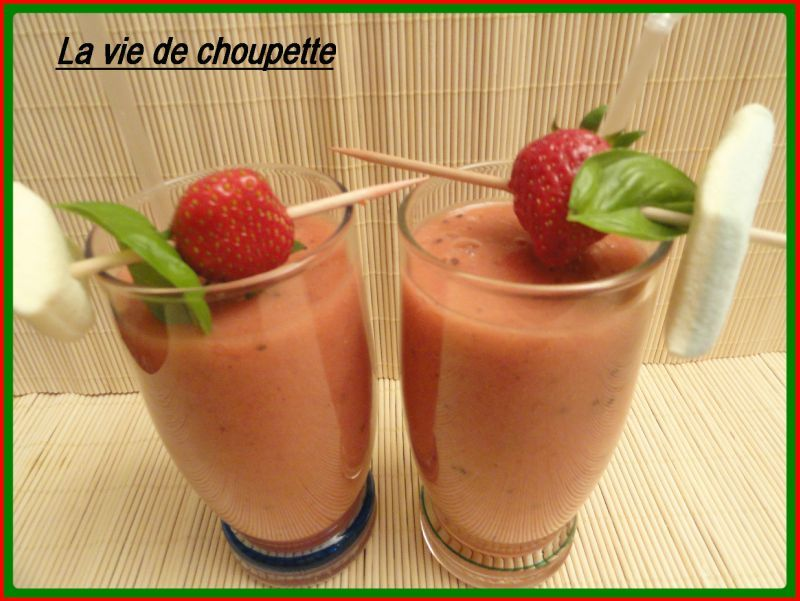 SMOOTHIE AUX FRUITS DE MA CORBEILLE...