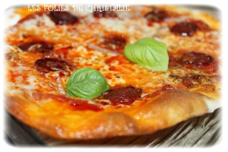 Pizza chorizo 5