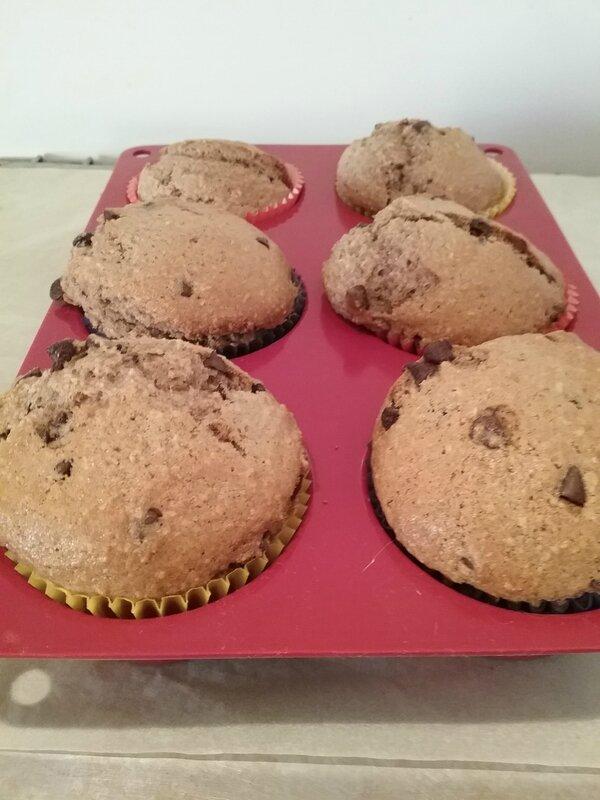 Petits gâteaux aux pépites de chocolat 084