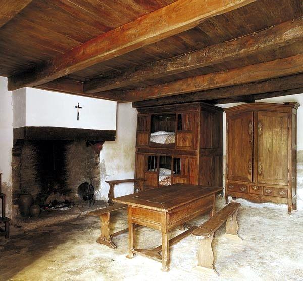 Cancale, Maison Natale de Sainte Jeanne Jugan, intérieur