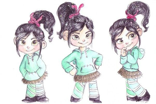 photo comment dessiner vanellope