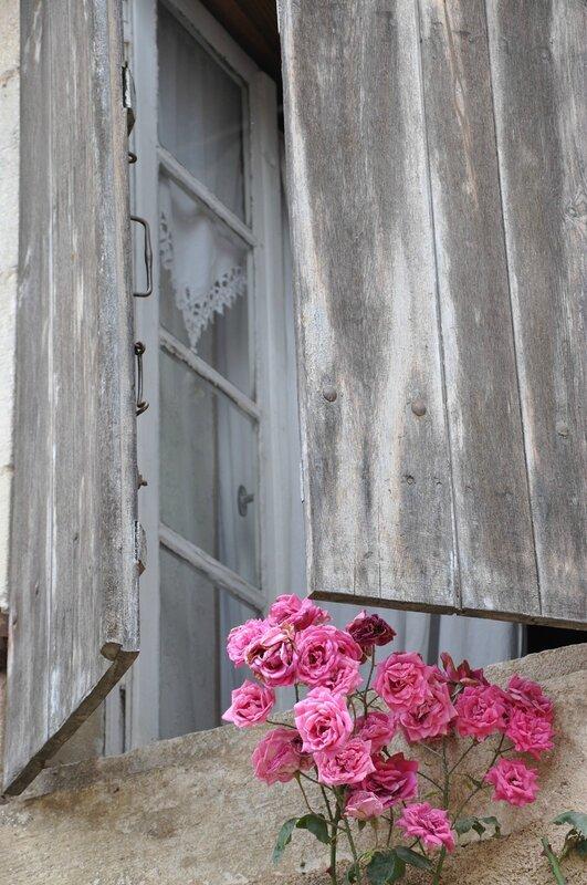 Roses et fenêtre2