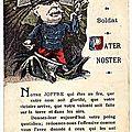 Carte postale Joffre