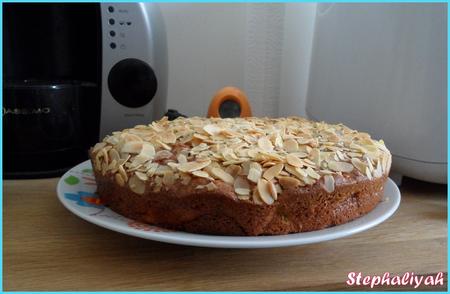 Gâteau moelleux aux pommes -- 2