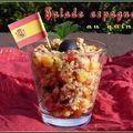 Salade espagnole au quinoa