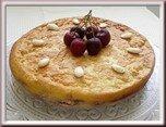 0258s- gâteau magique amandes et cerises
