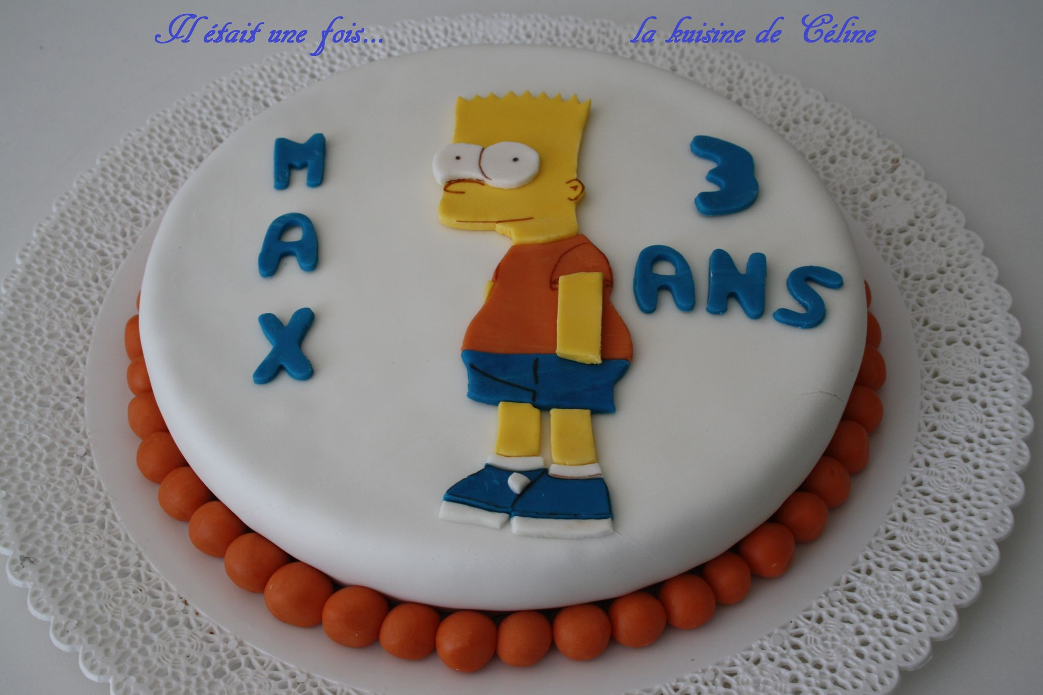 Gateau simpson facile