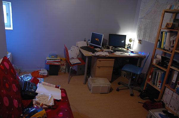 le bureau / chambre damis - Photo de Notre maison - Notre ...