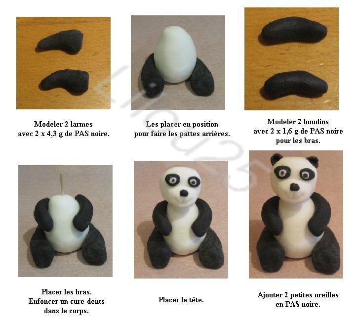 Super Muffins décor pandas et tutoriel - Gâteaux en fête de lilou 25 OH19