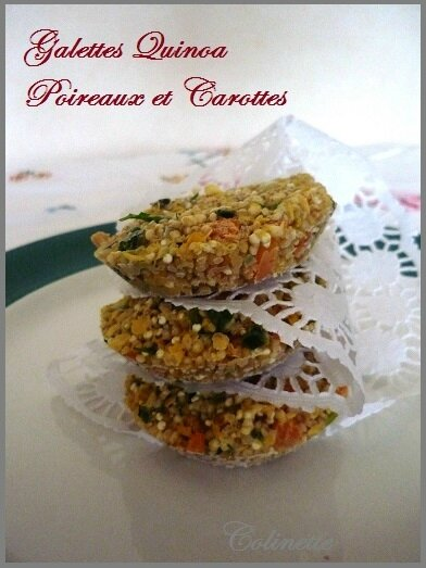 galettes quinoa poireaux carottes 02
