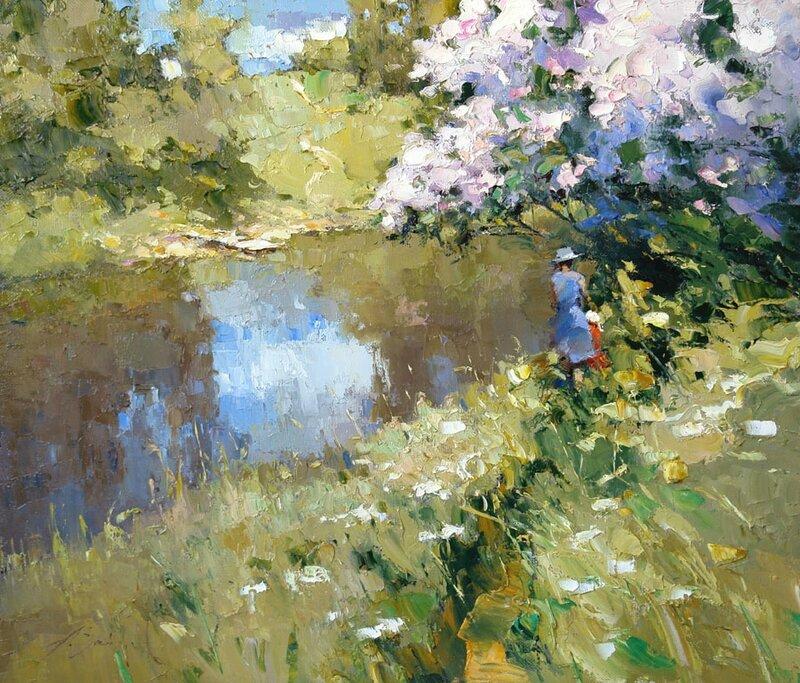 Alexi Zaitsev - Lilac above river
